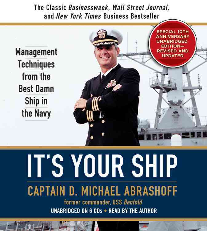 [CD] It's Your Ship By Abrashoff, Benfold